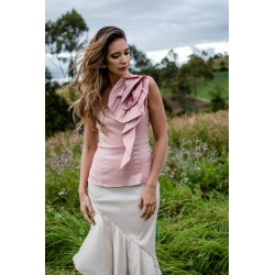Nairoby Blouse pale pink